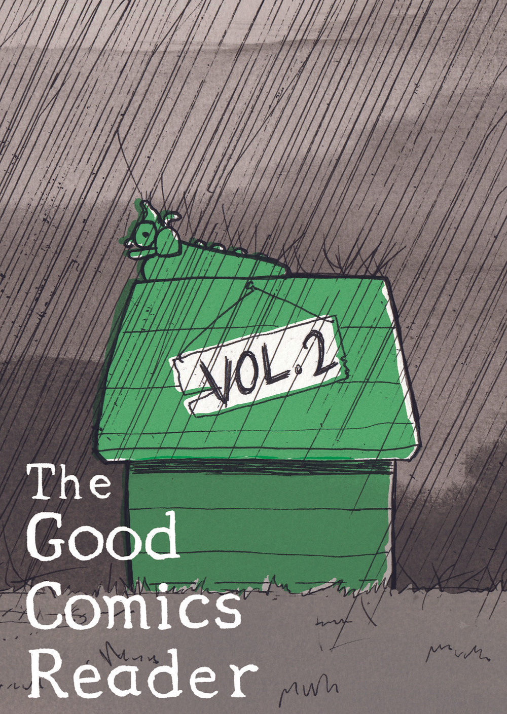 Cover artwork for the upcoming Good Comics Reader volume 2