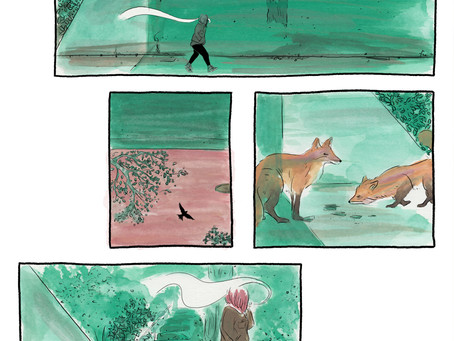 Good Friday: Weekly silent comics by Rozi Hathaway