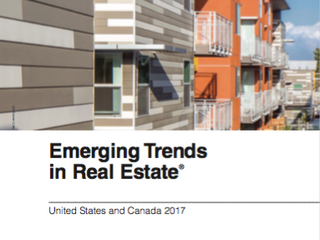 PwC and Urban Land Institutes' Emerging Trends in Real Estate 2017