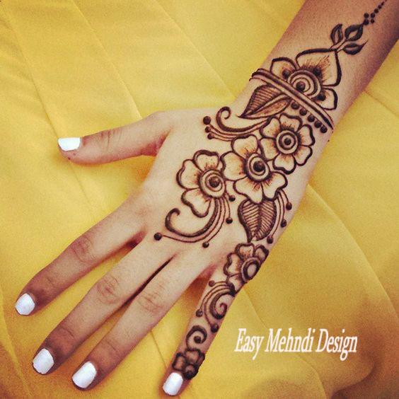 Best Mehndi Design For Kid