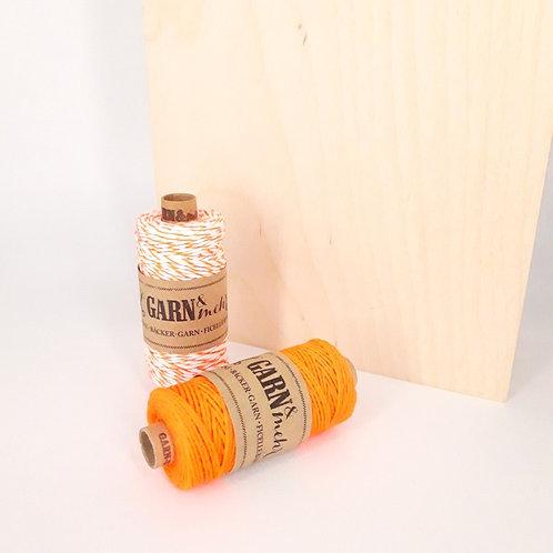 Bakers twine - neon oranje