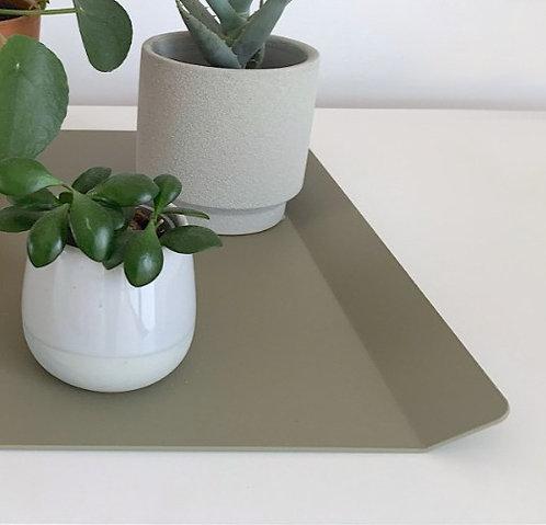 Tray olijfgroen