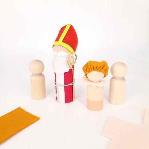 DIY pakket Sint en pietjes