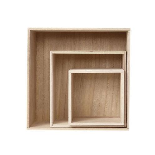 Presentatie boxen - set van 3