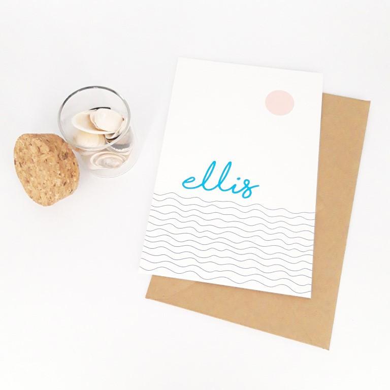 Collectiekaartje Ellis