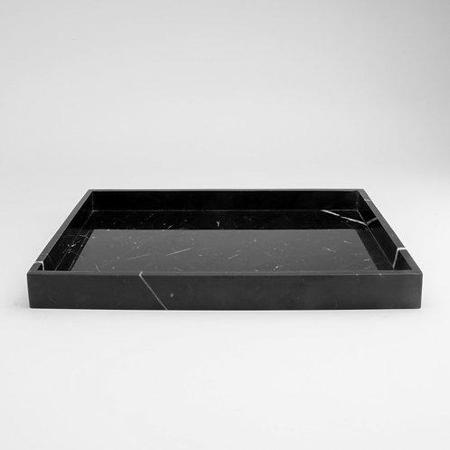 Dienblad marmer zwart
