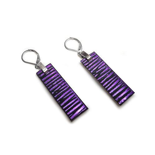 Aros HUELLAS violeta
