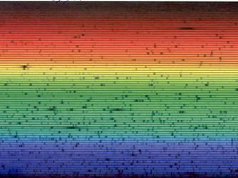 The Dark Spectrum II : Bands of Color
