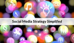 social media strategy simplified smaller