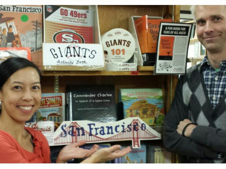 Our books are at Green Apple Books in San Francisco!