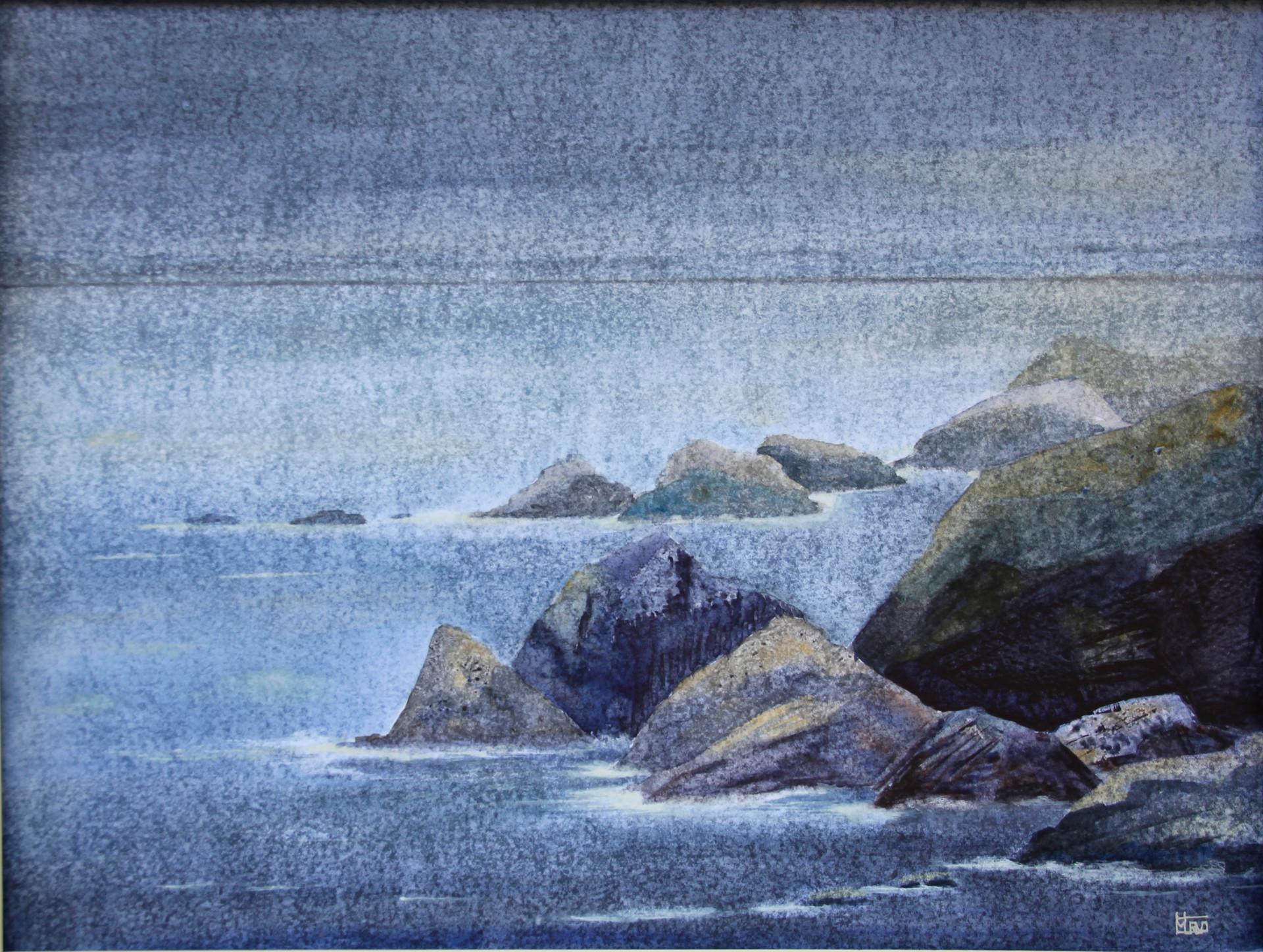 Storm on the Mountainous Coast