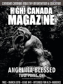March issue 41 High Canada Magazine cove