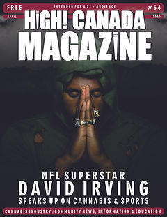 David Irving Cover - High! Canada Magazi