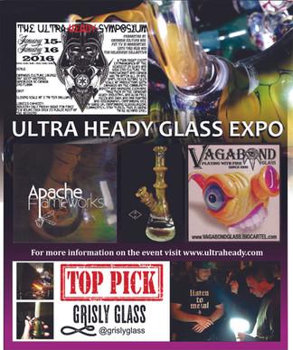 2016 Ultra Heady Glass Symposium FUN!