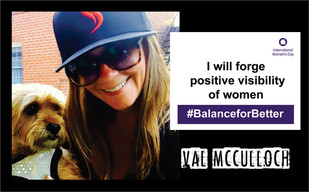 Val McCulloch - Shatterizer - Woman in Weed
