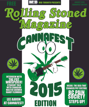ROLLING STONED AT CANNAFEST! AUGUST 7 - 8, 2015