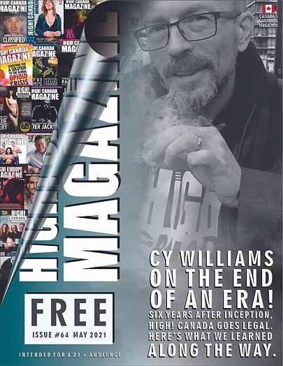 June issue 64 - high canada magazine cov