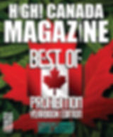 OCTOBER #36 issue of High Canada 2018 co