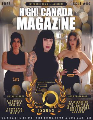 High! Canada Magazine hits Issue 50