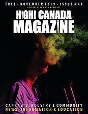 November issue 49 of HighCanadaMagazine