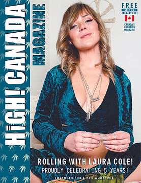 High Canada Issue 61 January 2021 cover.