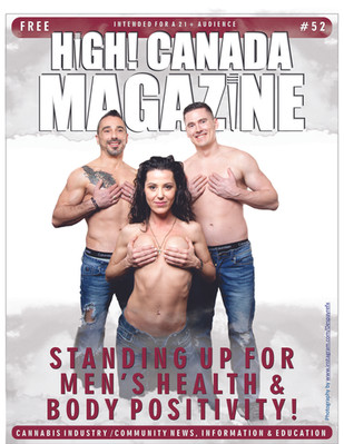 High! Canada Magazine Salutes Men's Health & Body Positivity