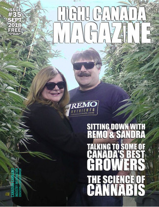 EXCLUSIVE! Talking to Remo & Sandra this September in High! Canada Magazine