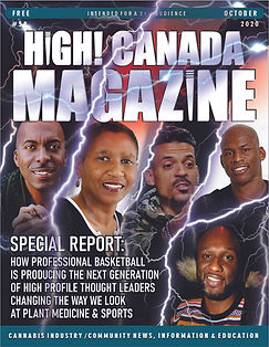 High Canada Issue 58 - October 2020 cove