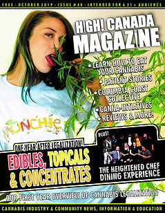 October issue 48 of HighCanadaMagazine w
