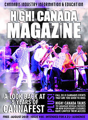 August issue 46 of HighCanadaMagazine co