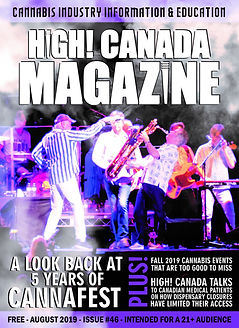 August issue 46 of HighCanadaMagazine co