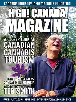 July issue 45 of HighCanadaMagazine cove