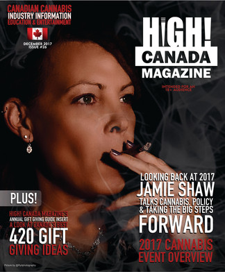 The December Issue Of High! Canada Magazine & Our Special Gift Giving Guide Holiday Inserts Are