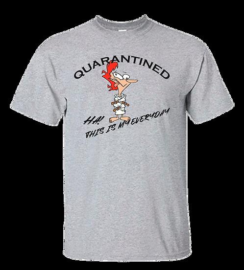 Quarantined HA!