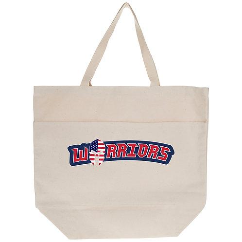 Warrior Tote Bag Pocketed