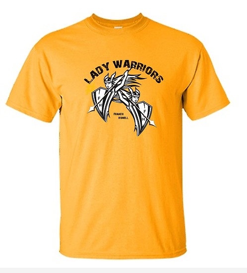 DUEL LADY WARRIORS, Black logo