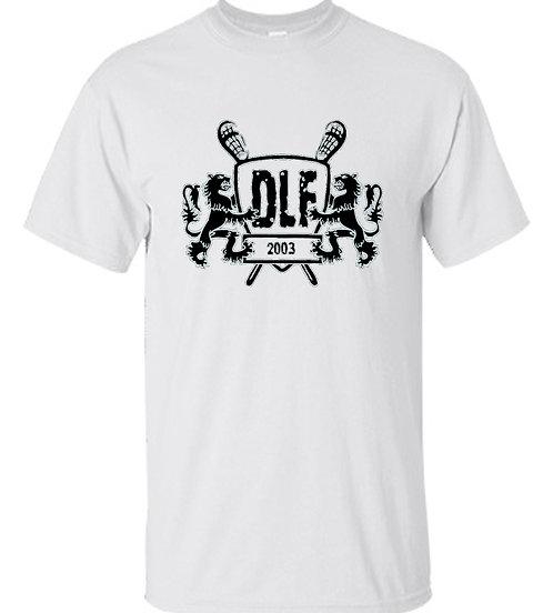 Danish Lacrosse Federation - Black Logo