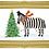 Thumbnail: Moon Zebras X-mas card (set of 10)