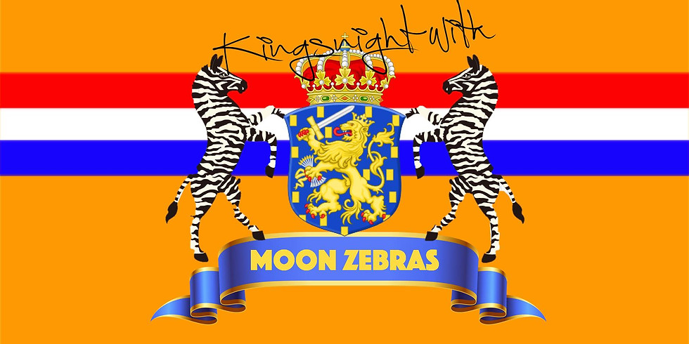 Kingsnight with Moon Zebras at Volte