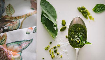Selbst gemachtes Pesto