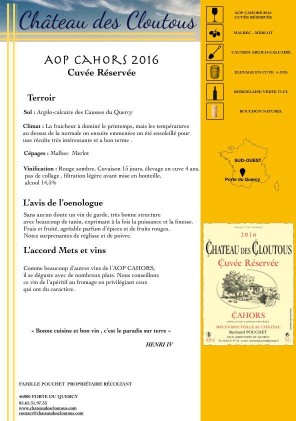 FICHE TECHNIQUE 2016 cuvée reservee .001