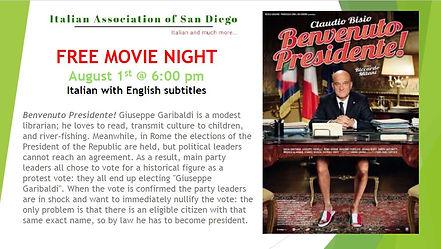 Movie night Benvenuto Presidente! site.J