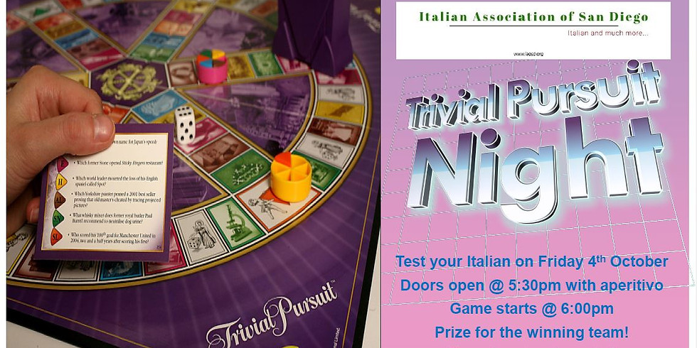 Trivial Pursuit Night