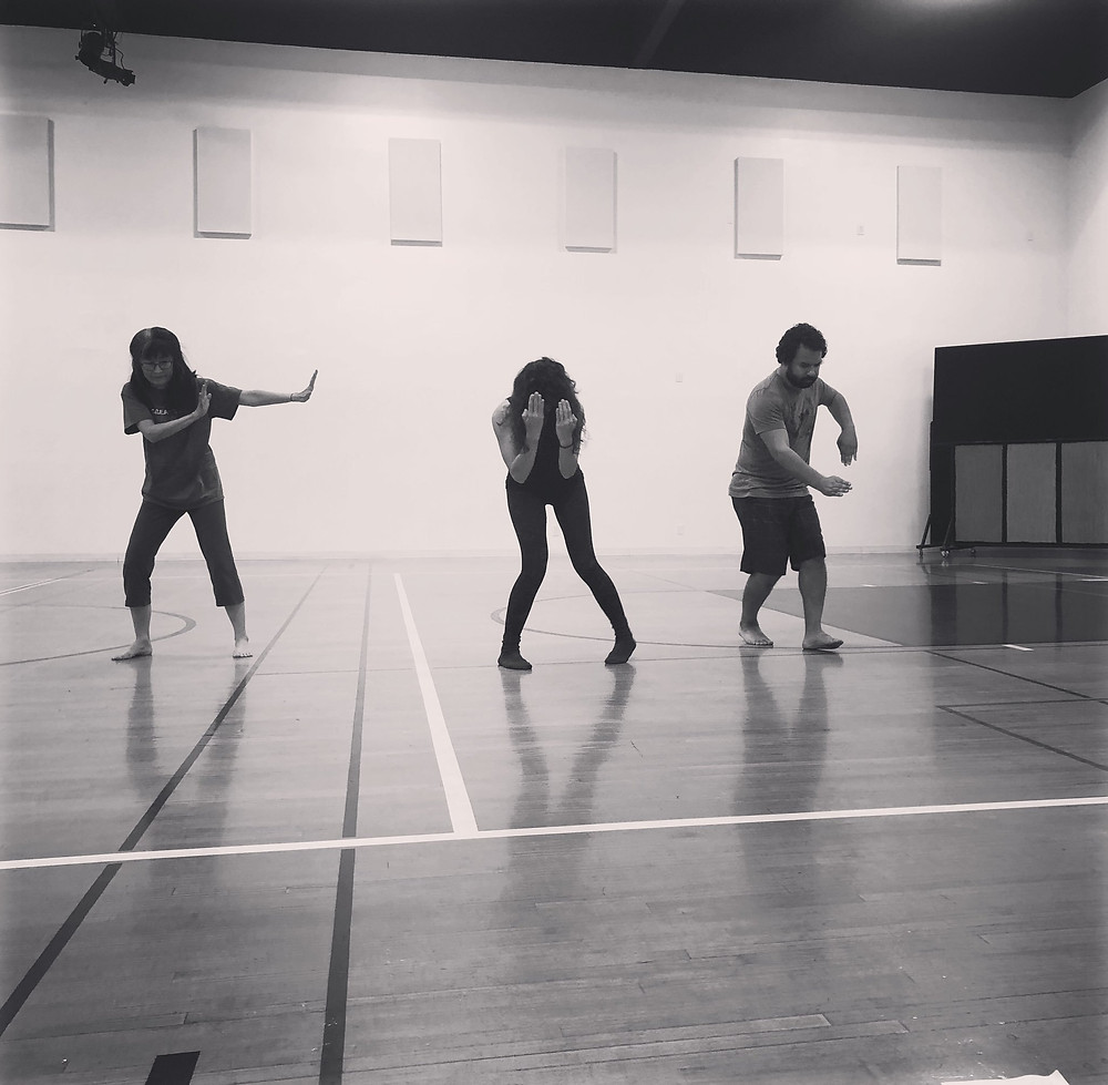 theatre dybbuk rehearsal