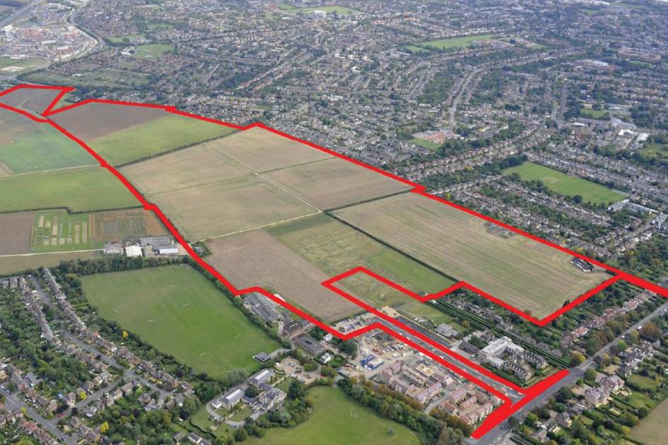Large housing development - Cambridge