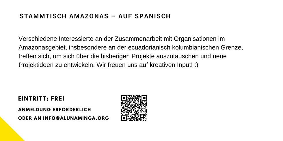 Stammtisch MINGA por la Amazonía