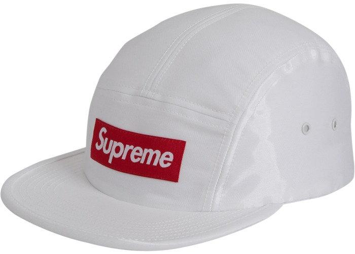 SS17 Supreme Satin Cap White