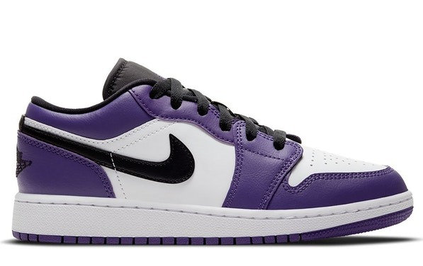 Air Jordan 1 Low Court Purple 2.0 (GS)