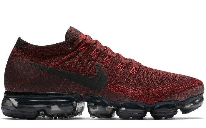 Nike VaporMax Dark Team Red