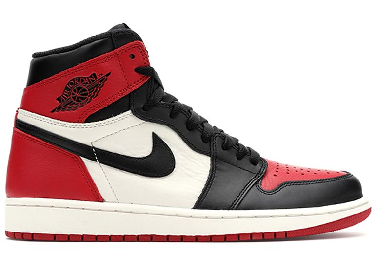 Air Jordan 1 High Bred Toe